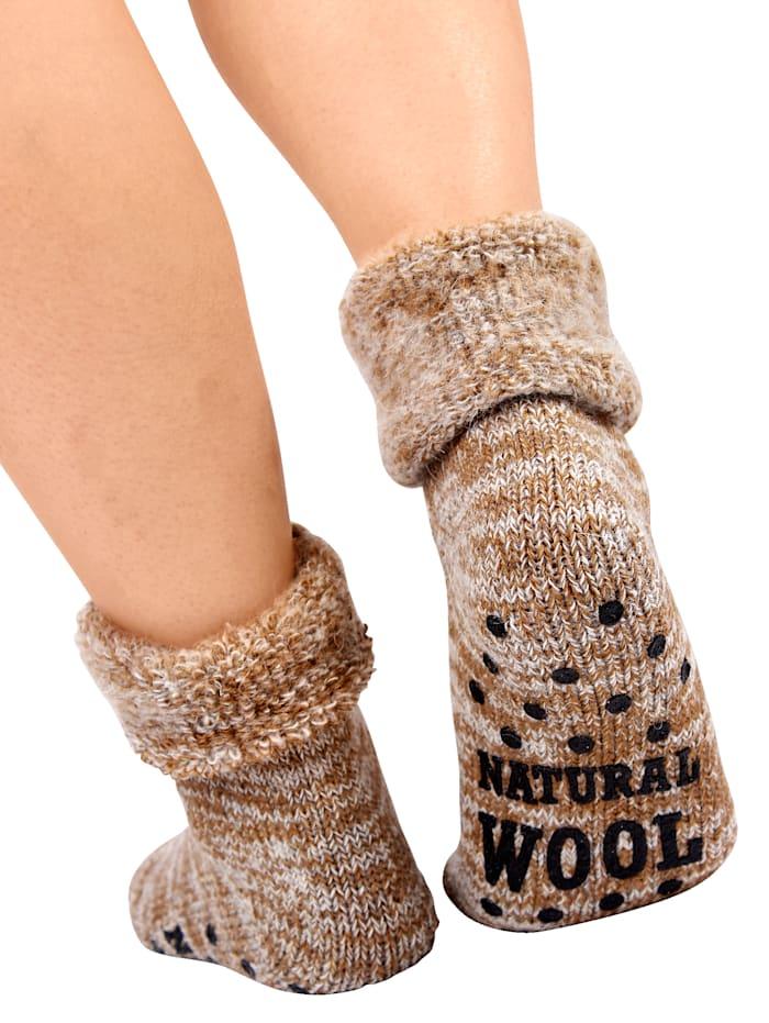 Chaussettes en laine 'Rêve hivernal'