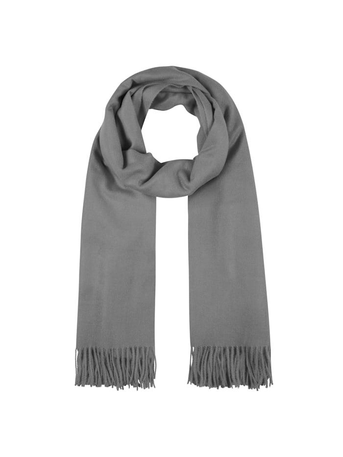 Codello Softer Oversized-Schal mit Viskose, grey