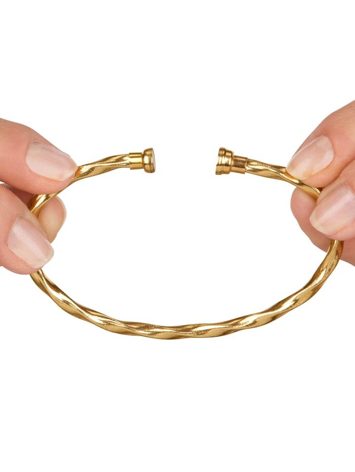 Bracelet orné de zirconia