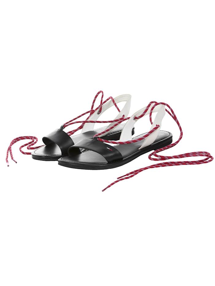 Tommy Hilfiger Footwear Sandale, Schwarz