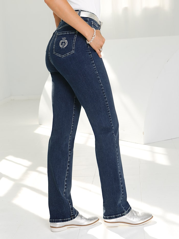 Classic jeans made from stretch cotton