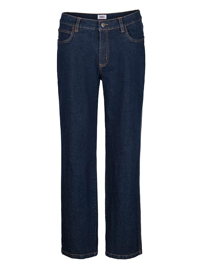 Roger Kent Jeans med elastan, Dark blue