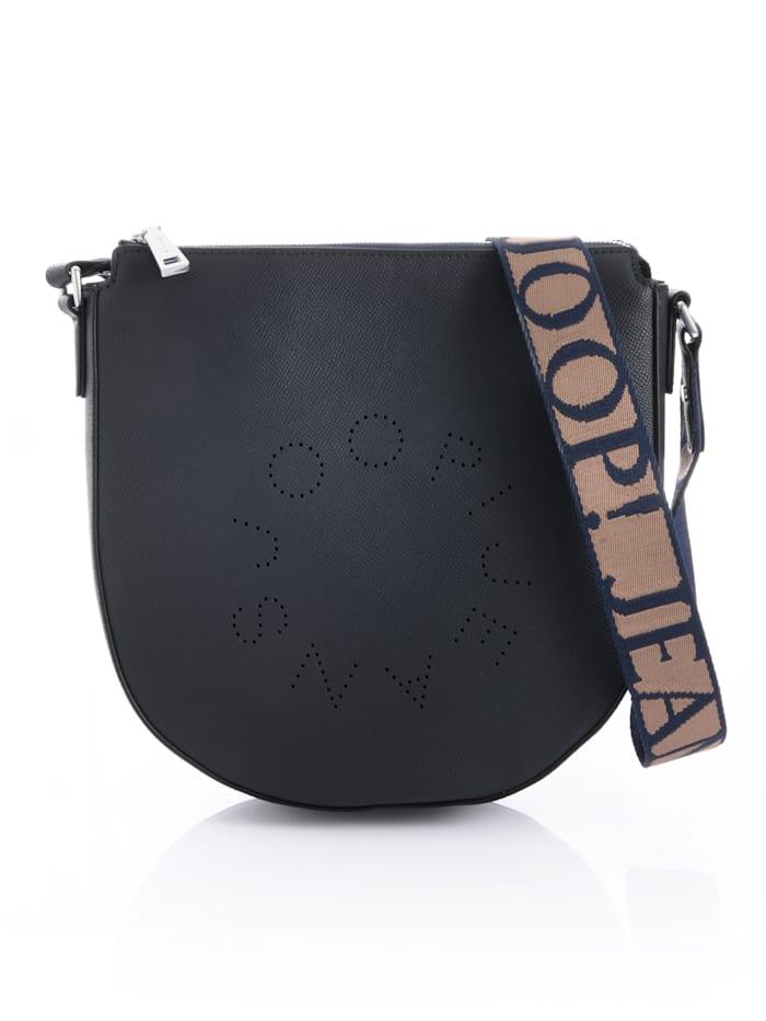 JOOP! JEANS Tasche mit Logo-Prägung, Marine