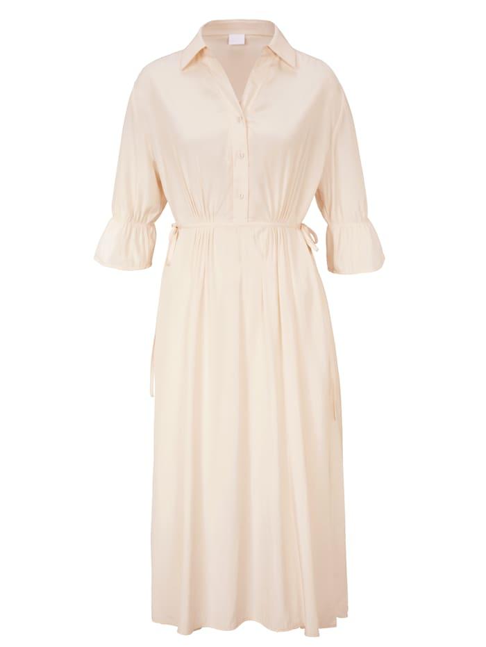 REKEN MAAR Hemdblusenkleid, Off-white