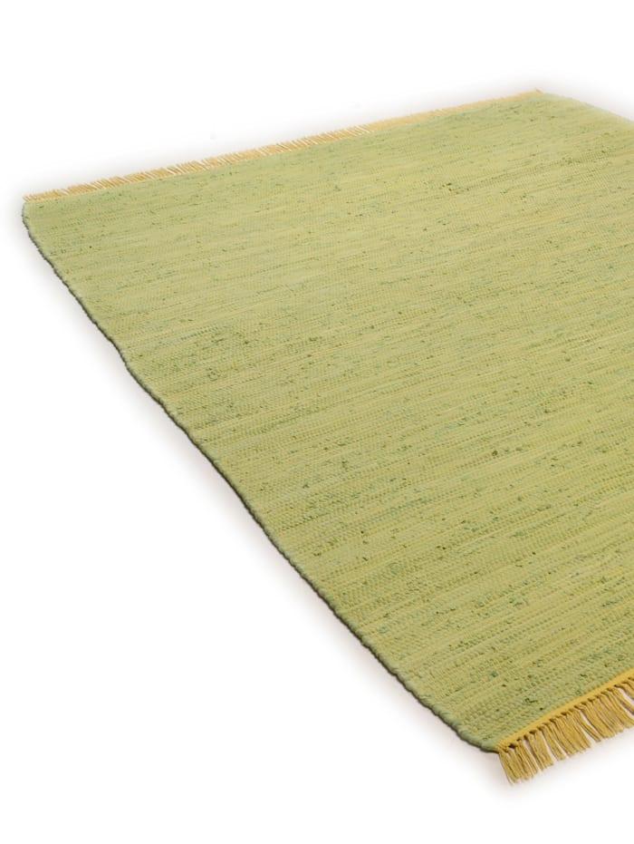 Handwebteppich Cotton