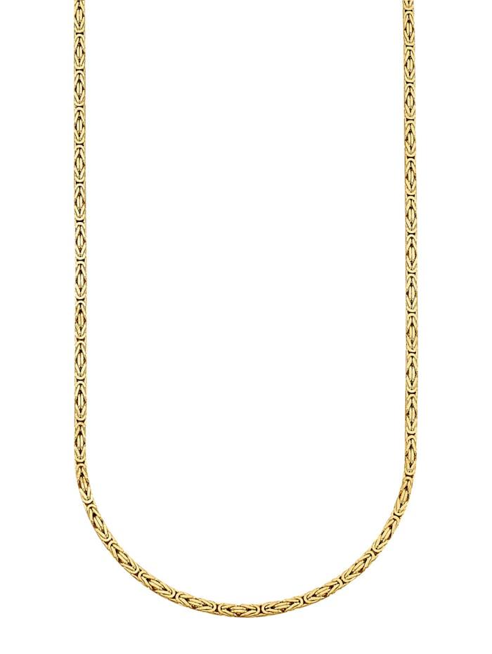 Königskette in Silber 925, Gelbgoldfarben