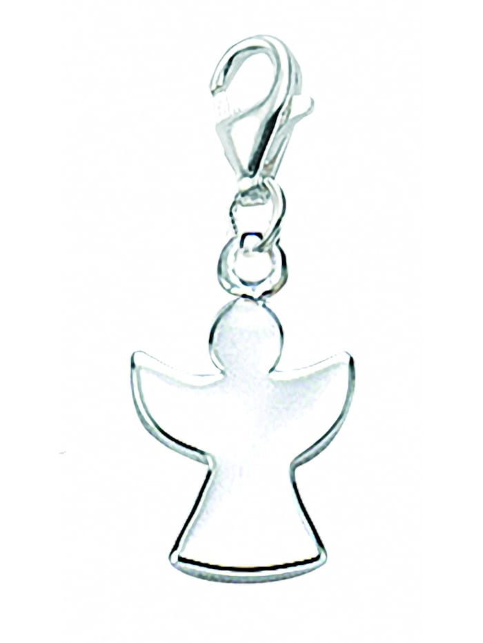 1001 Diamonds 1001 Diamonds Damen Silberschmuck 925 Silber Charms Anhänger Engel, silber