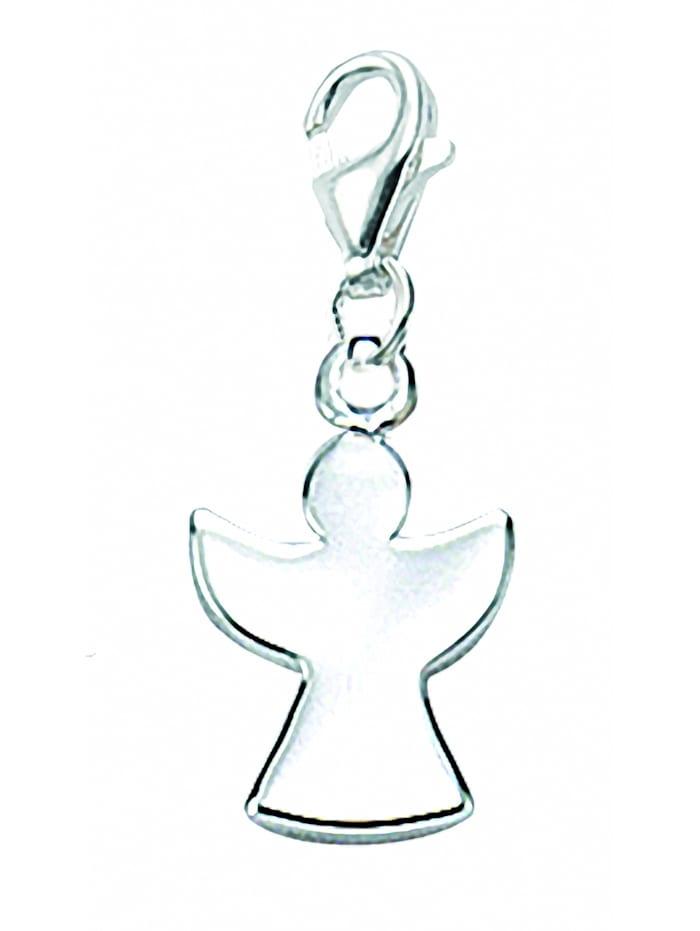 1001 Diamonds Damen Silberschmuck 925 Silber Charms Anhänger Engel, silber