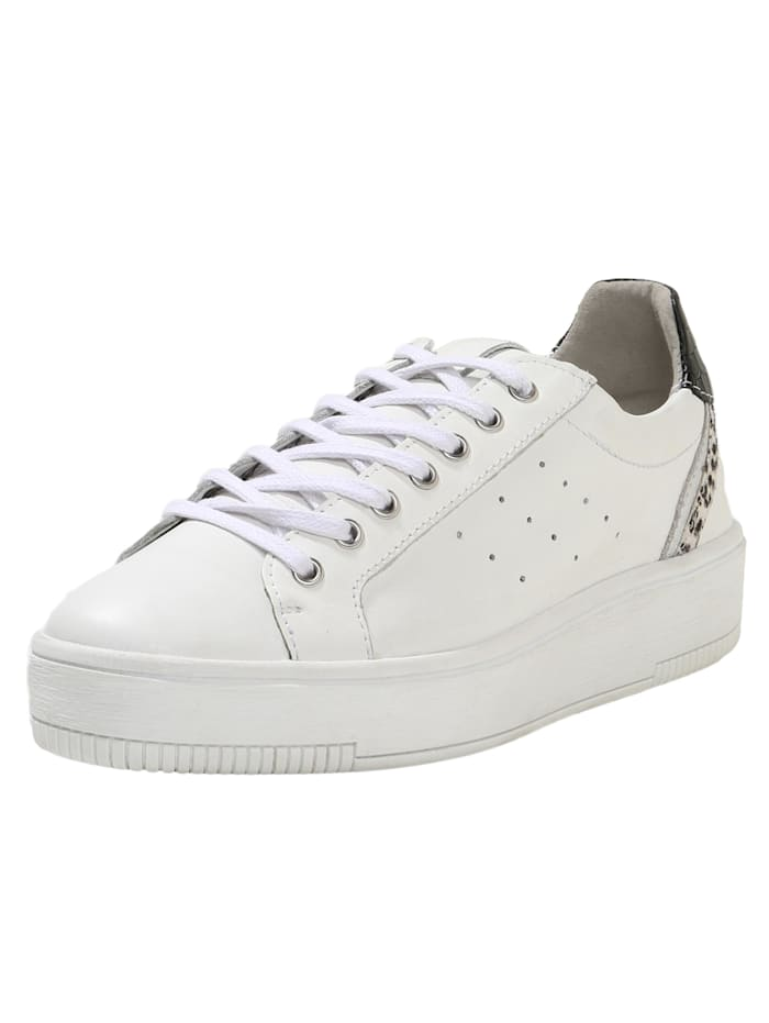 COX Sneaker Low Platform-Sneaker, weiß