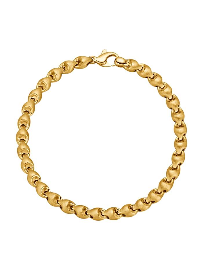 Bracelet en or jaune 585, Coloris or jaune