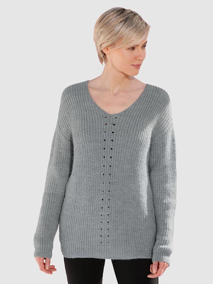 Pullover in Melange-Qualität