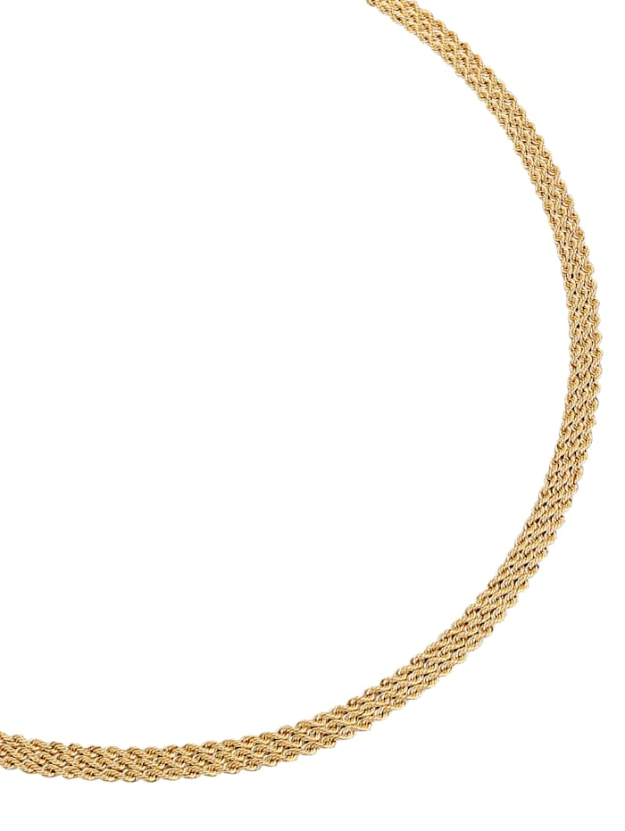 Diemer Gold Halskette in Gelbgold, Gelb