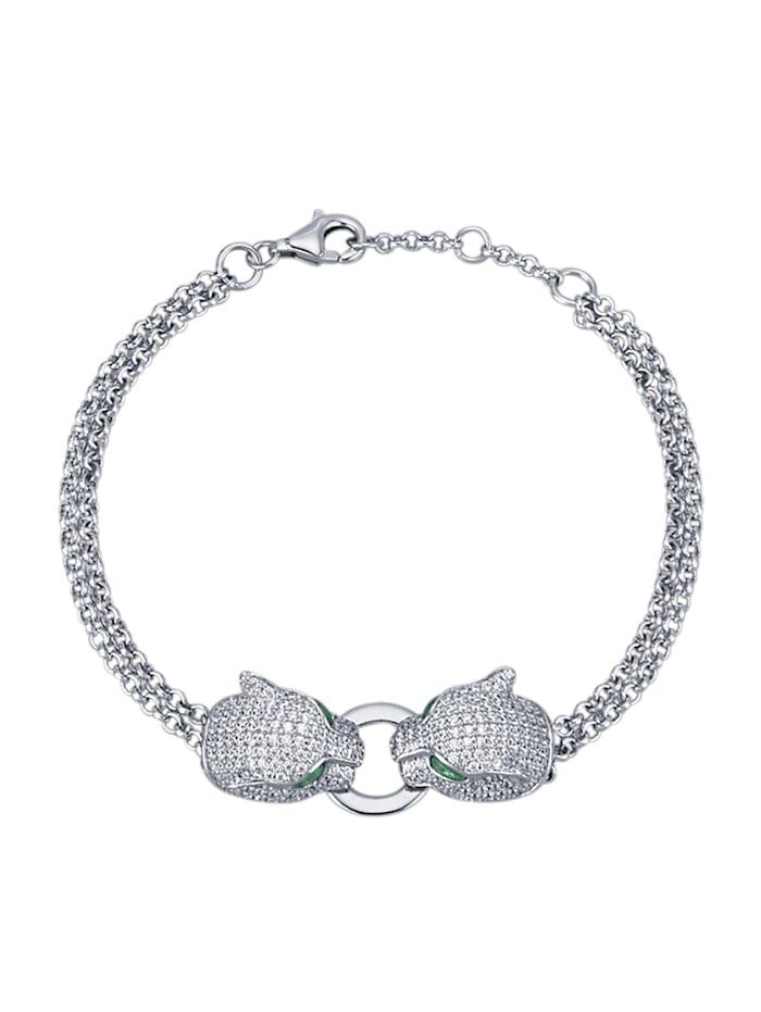 Amara Tendance Bracelet en argent 925, Coloris argent