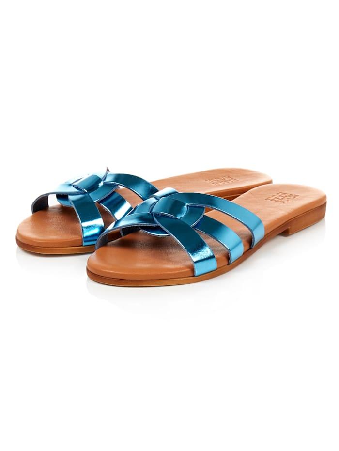 REKEN MAAR Sandale, Blau