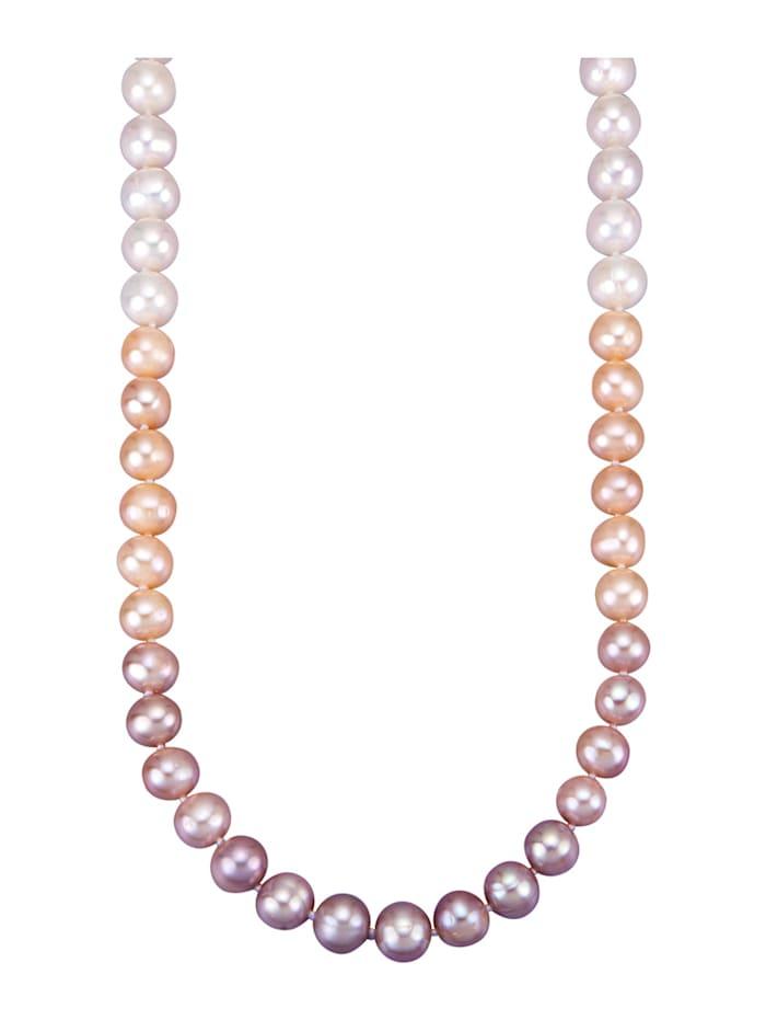 Amara Perles Collier en perles de culture d'eau douce, Multicolore