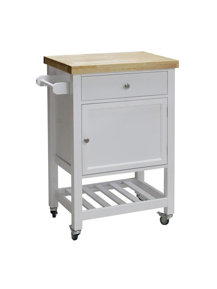 HTI-Line Küchenwagen M Blanca, Weiß