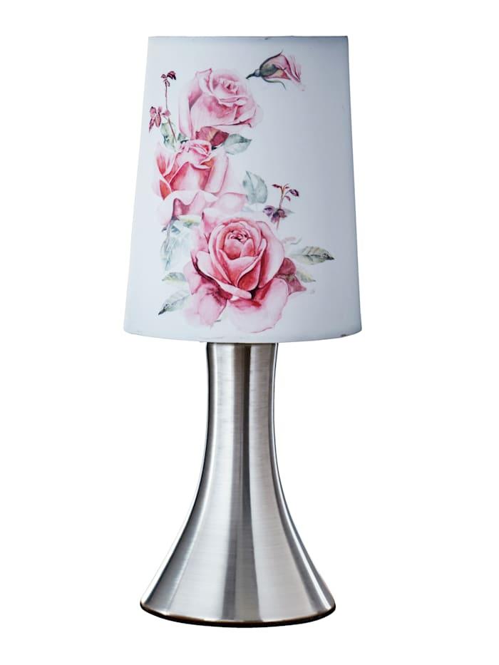 Touchlampa med rosor, Rosa