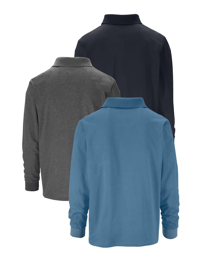 Poloshirt 3er Pack