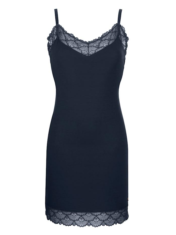 JOOP! Nuisette de la collection Sheer Luxury, Bleu nuit