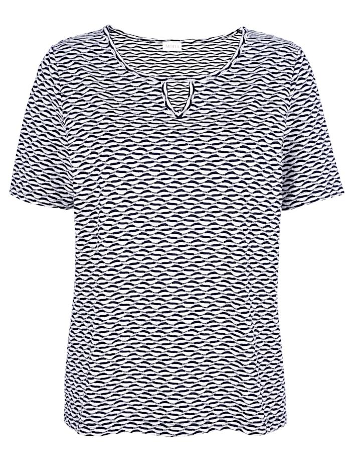 Tričko ze strukturovaného materiálu