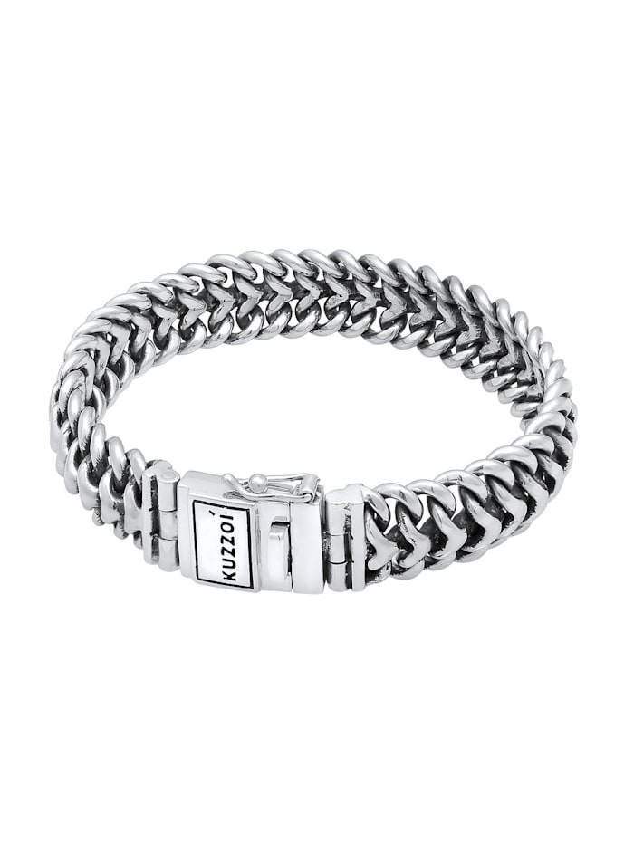 Armband Herren Panzerarmband Edel Fein 925 Sterling Silber