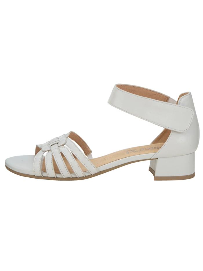 Sandale mit attraktiver Riemchenführung
