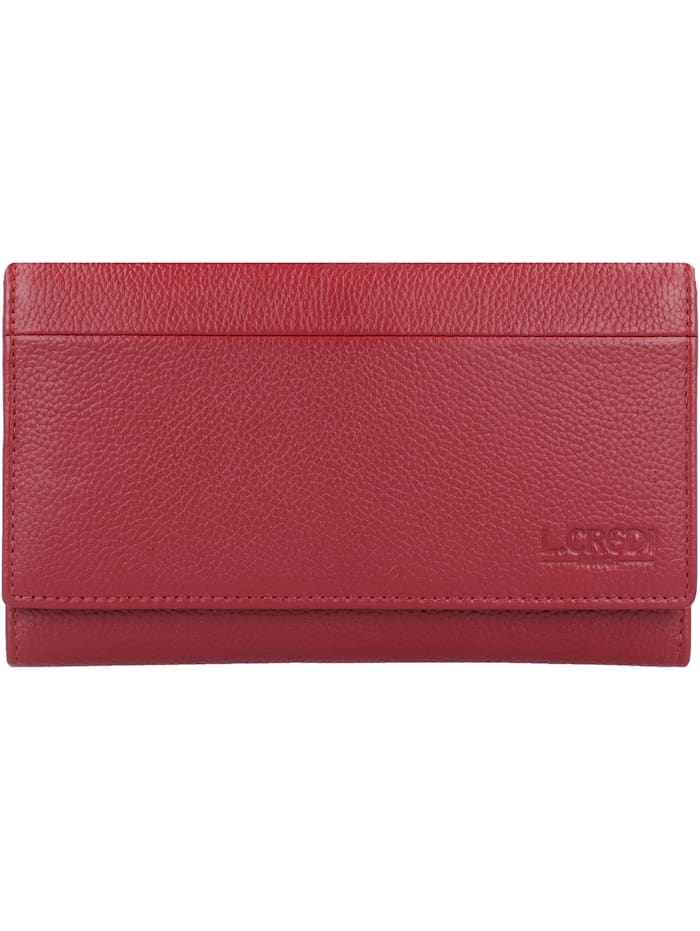 L.Credi Chrissi Geldbörse 17 cm, rot