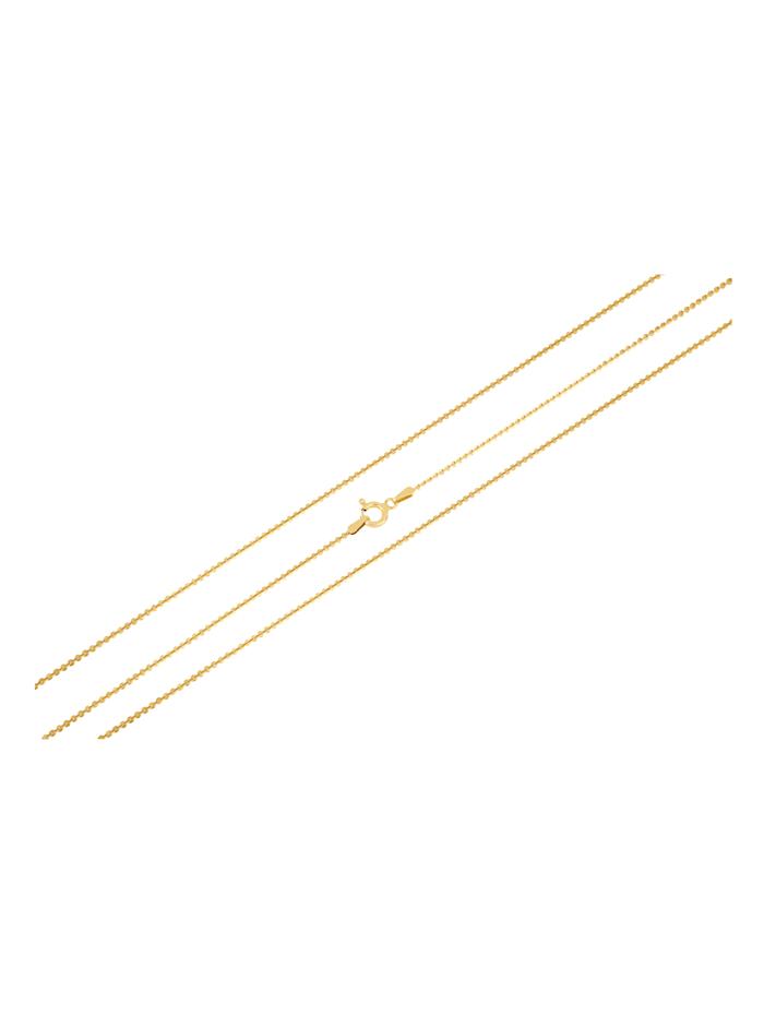 Grazielli Ankerketting van verguld zilver, Geelgoudkleur