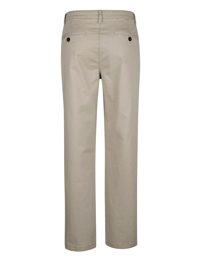 Pantalon sans pinces en matière stretch