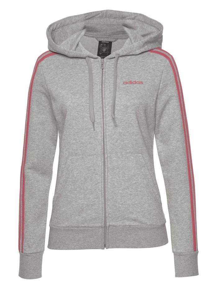 adidas adidas Jacke Essentials 3 Stripes, Grau