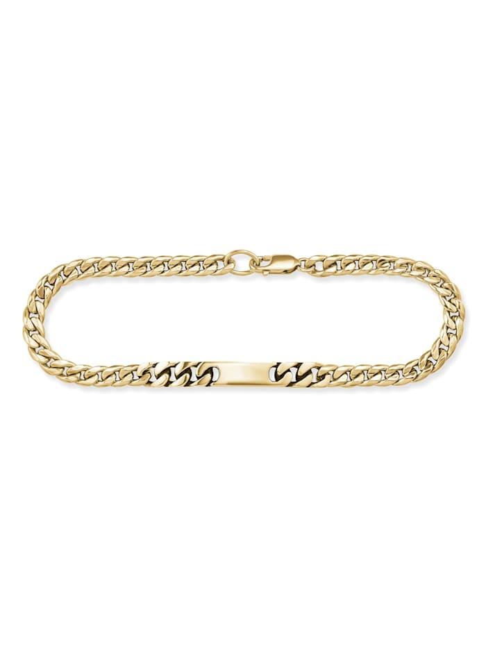 CAI Armband 925/- Sterling Silber ohne Stein 21cm glänzend, gelb