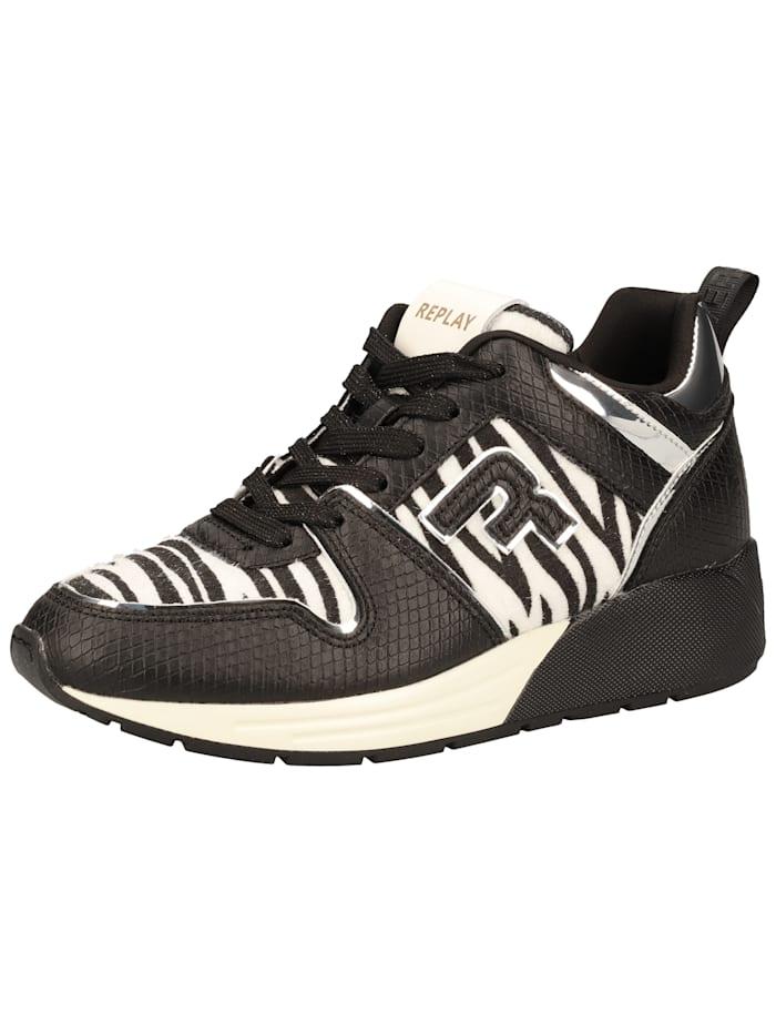 REPLAY REPLAY Sneaker, Schwarz/Weiß