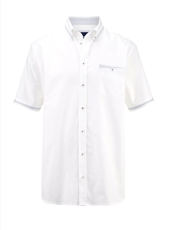 BABISTA Hemd mit feiner Struktur, Weiß