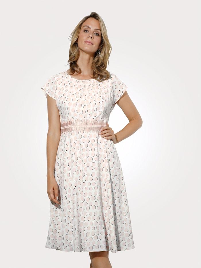 Kleid mit zarten Pastelltupfen