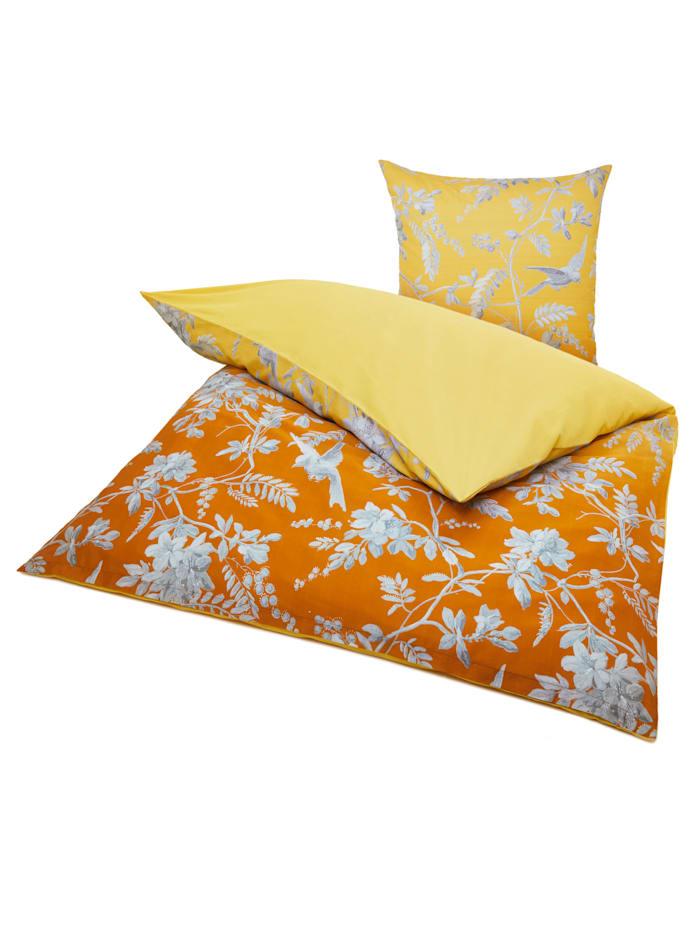 IMPRESSIONEN living Bettwäsche, orange/gelb/weiß