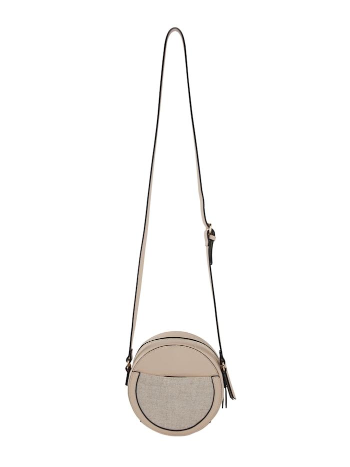 Shoulder bag in a round design
