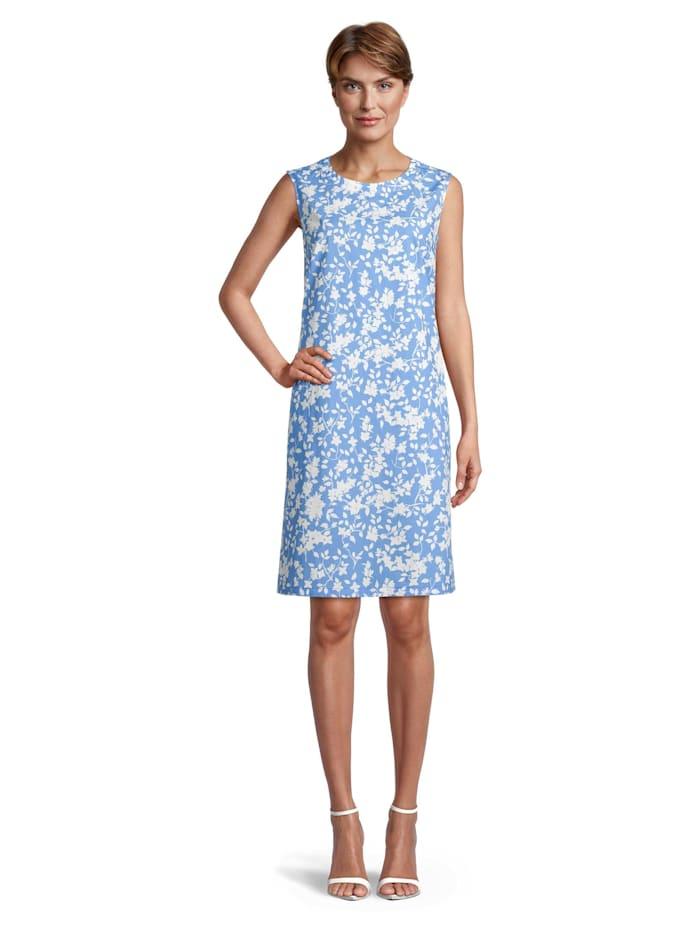 Vera Mont Sommerkleid mit Reißverschluss, Blau
