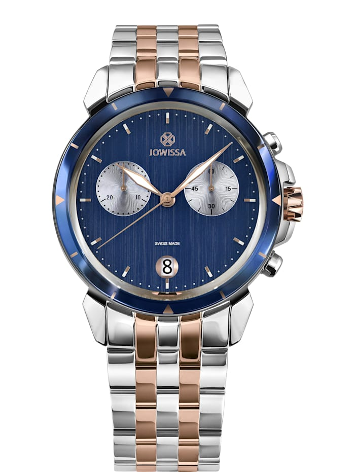 Jowissa Quarzuhr LeWy 6 Swiss Men's Watch, blau
