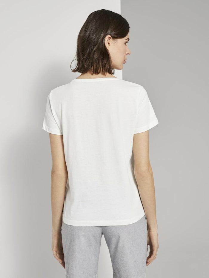 Motivprint T-Shirt mit Bio-Baumwolle