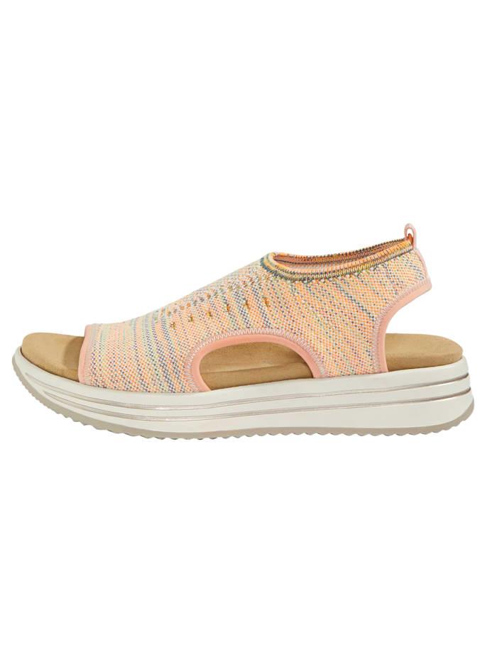Sandales livrées avec 2 premières amovibles