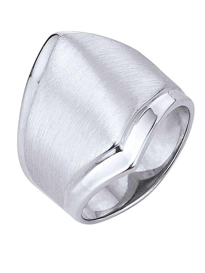 KLiNGEL Damenring in Silber 925, Silberfarben