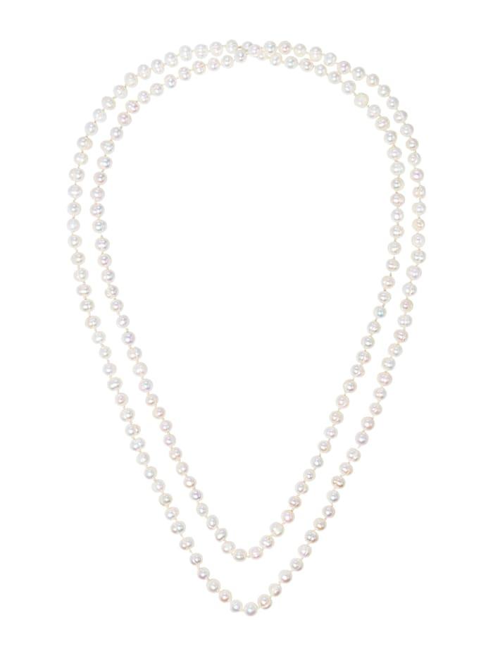 SIENNA Perlenkette, Creme-Weiß