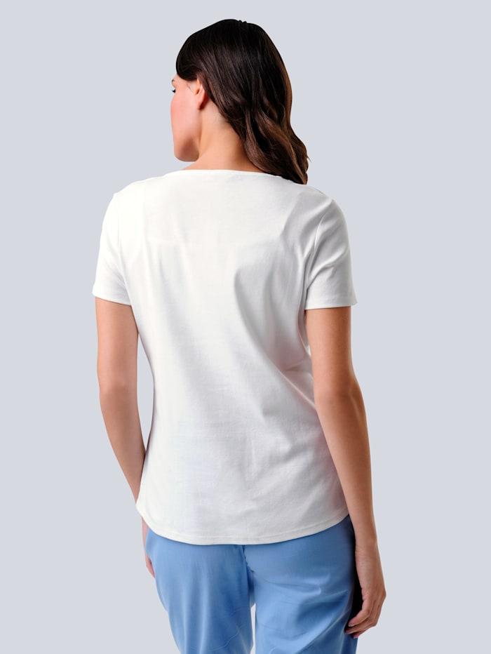 Shirt mit maritimem Motiv in Patchoptik