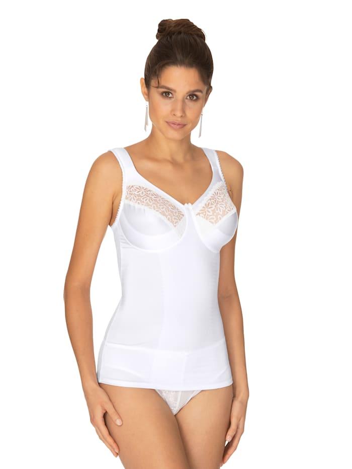Miss Mary Bh-hemdje met versteviging voor, Wit