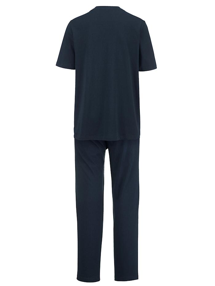 Pyjama luomupuuvillaa