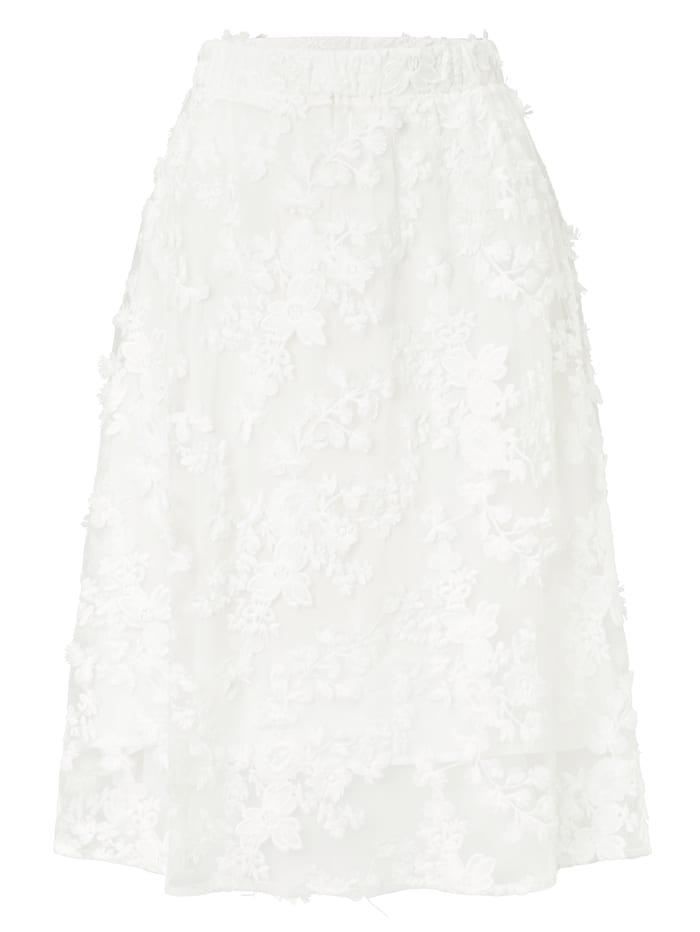 SIENNA Tüllrock, Creme-Weiß