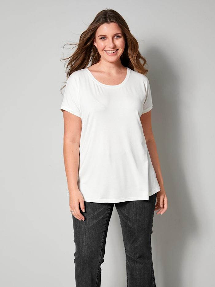 Sara Lindholm Shirt lässig geschnitten, Off-white