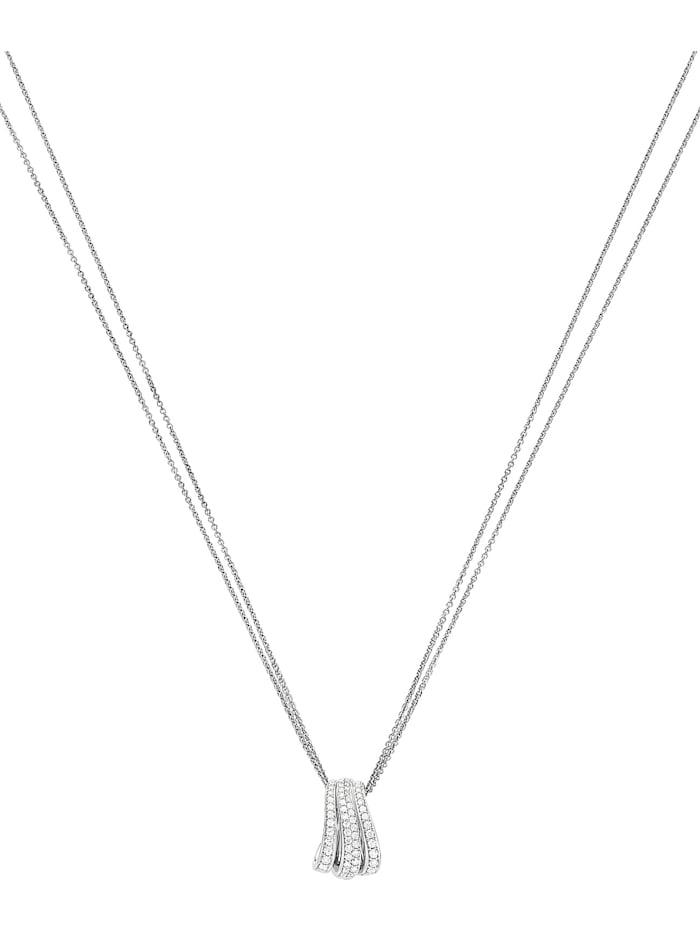 CHRIST C-Collection CHRIST Damen-Kette 585er Weißgold 62 Diamant, weißgold