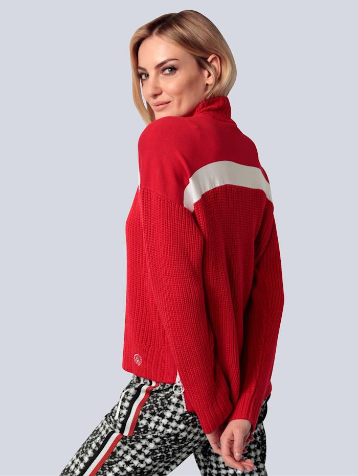 Pullover im Troyer-Stil