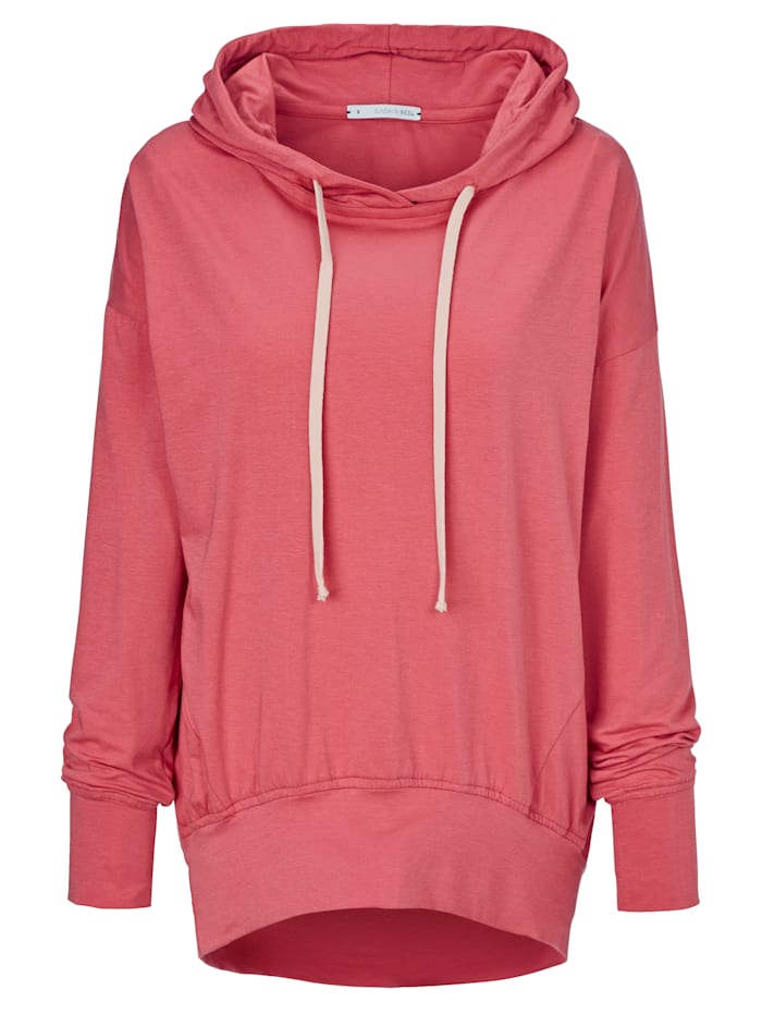 SUNDAY IN BED Hoodie, Beere